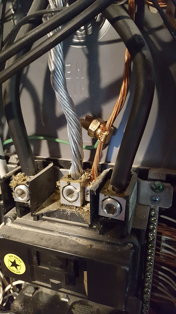 SineTamer Ground Wire Connection